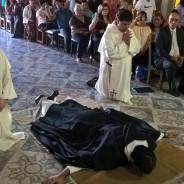Profesión Solemnne de fray Pedro Fracisco Morel Benítez OP