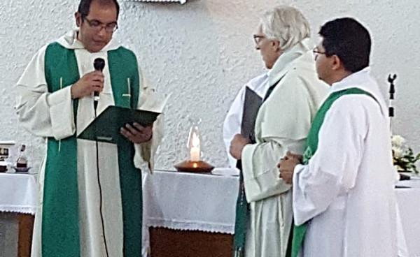 Nuevo párroco en la Crucecita